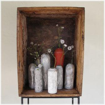Vasen, Schrein, Kraftobjekte Wolfgang Wallner Hall in Tirol
