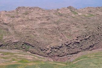 Site de l'Adrar Tizerag, Haut Atlas central, 2018, ©Frédérique Courtin-Tarrier