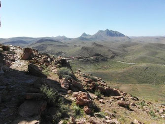 Biotope, Djebel Akoumbi, Anti-Atlas sud-occidental (Photo Frédérique Courtin-Tarrier)