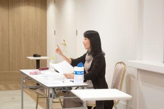 健康づくり朗読講座の様子 COTONOWA