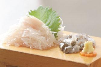 Squid Sashimi 1,200~2,800 yen