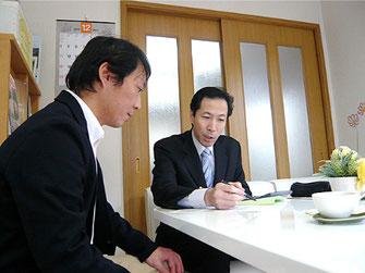 新潟市の社会保険労務士法人「大矢社労士事務所」の労務相談の様子