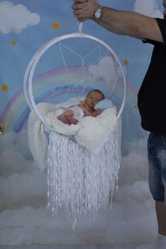 vader met newborn