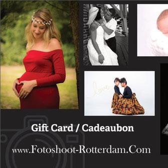 cadeaubon voor babyfotografie
