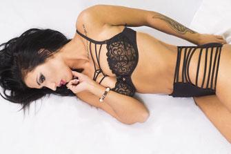 lingerie setje en tattoo