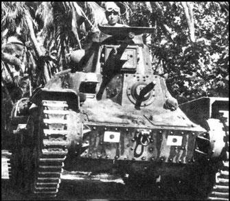 Le petit gabarit du Type 95 est un vrai atout tactique