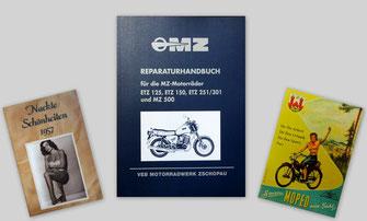 Reparaturbuch Betriebsanleitung Ersatzteilkatalog Ersatzteilliste Prospekt Nackt Männermagazin Simson Mz Iwl Reparaturbuch