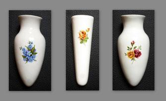 Autovase Vase Blumenvase Blumen Rosen  Vergissmeinicht