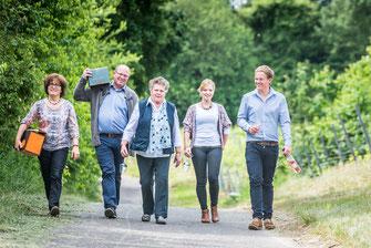 Familienfoto Weingut Rheinhessen