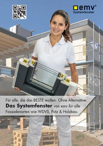 emv Systemfenster für Stuckateure & Maler