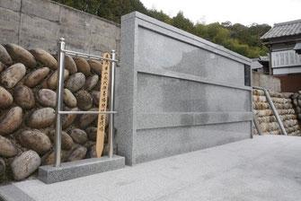 希望者には永昌院、永代供養墓の銘板横に塔婆を立てていただくことが可能です。