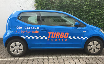 Autokurier in Frankfurt