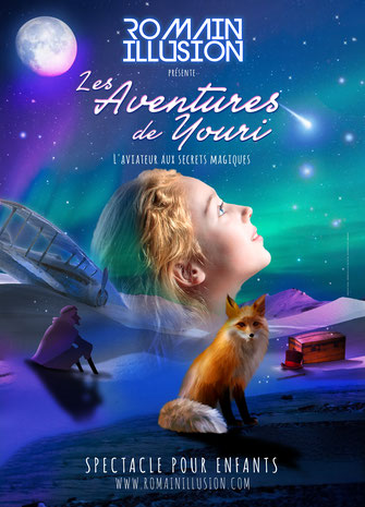 Spectacle de Magie - Les Aventures de Youri - Romain Illusion