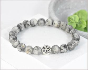 Jaspis Edelstein Armband mit Lebensbaum  21,90 €