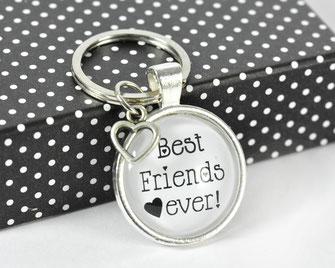 Schlüsselanhänger mit Sinnspruch Best friends