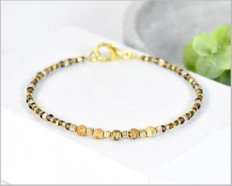 Bild Jaspis Edelstein Armband kombiniert mit Miyuki Perlen  22,90 €