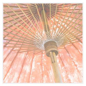 Foto Sonnenschirm orange