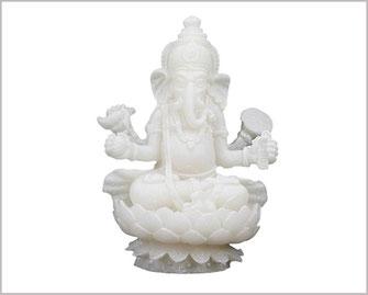 Ganesha aus Alabaster 10 cm  12,90 €