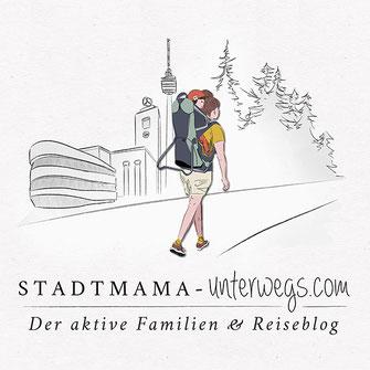 Stadtmama Unterwegs, Blogdesign, Editorialdesign,Grafikdesign, Corporate Design, Flyer, Postkarte, Grafikdesign Stuttgart, Eiscafé, Restaurant Design, Gutschein Design, Illustration, Typografie