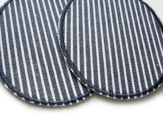 Bild: Hosenflicken zum aufbügeln, oshkosh Jeans grau Flicken für Kinder