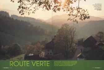 """Der """"Oxhof"""" an der Panoramastraße zwischen St. Peter und St. Märgen im Schwarzwald."""