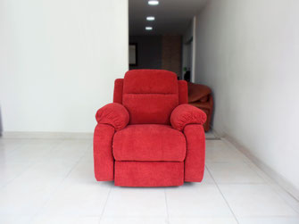 Silla reclinable en Tela