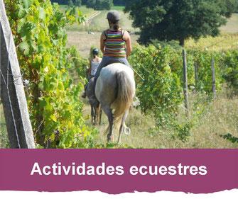 actividades ecuestres
