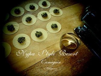 Italian cuisine, homemade Italian food, Lounge Area, cocktails, wine, pasta, Nypa Style Resort, Camiguin, Philippines