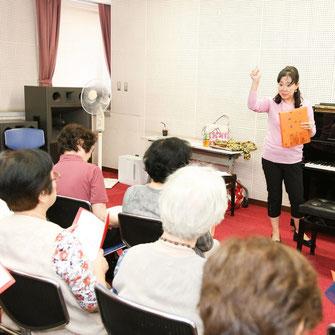 楽育脳音楽協会の歌の会講師養成講座の画像