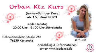 Urban Kiz Kurs ab 23. März 2020