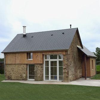 Transformation d'un garage en Habitation à St Martin de Bonfossé