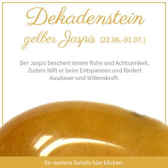 gelber Jaspis krebs sternzeichen edelstein bedeutung schmuck geburtstein