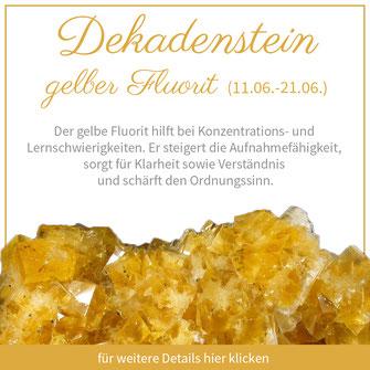 gelber fluorit zwillinge sternzeichen bedeutung edelstein schmuck geburtstein