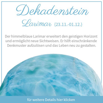 larimar schütze sternzeichen bedeutung edelstein schmuck geburtstein
