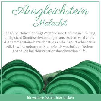 malachit schütze sternzeichen bedeutung edelstein schmuck ausgleichstein