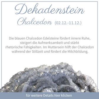 chalcedon schütze sternzeichen bedeutung edelstein schmuck geburtstein