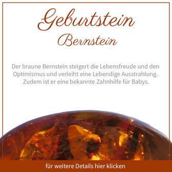 bernstein stier sternzeichen bedeutung edelstein schmuck geburtstein