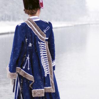 Husarenuniform um 1900