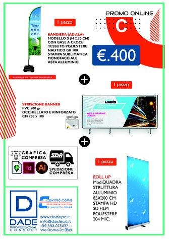 DADEpc Bolzano Promozioni in corso su stampa | grafica | website | comunicazione Bolzano