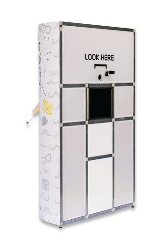 Hallophotobooth in stuttgart photobooth fotobox fotokabine videobox videobooth hochzeit event entertainment betriebsfeier spass party tower