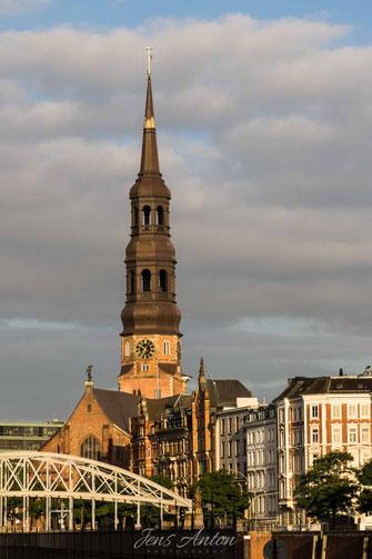 Kirchtum Kirche Hamburg Fleet