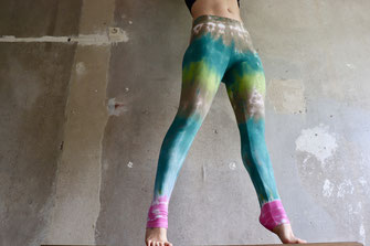 Hipster Batik Leggings Gr. S