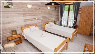 Chambre 2 lits vercors