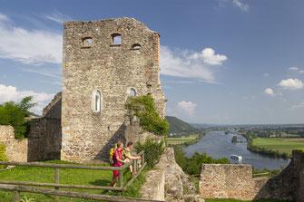 Burgruine Donaustauf © Tourismusverband Ostbayern e.V., Fotograf Stefan Gruber