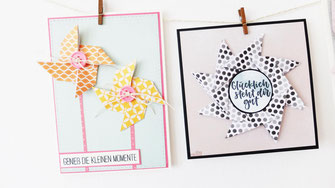 diy pinwheel card