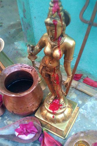 Die Göttin Parvati