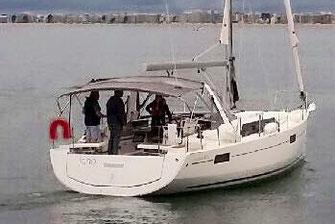 Prise en main de voilier neuf
