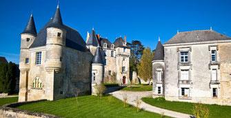 Les châteaux de la Loire à proximité du restaurant gastronomique en Touraine La Promenade au Petit Pressigny - Fabrice Dallais - 1 étoile au Guide Michelin