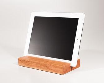 Bild: iPad Halter, Holzständer, Halterung tablet