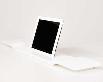 Bild: iPad tablet Halterung für die Badewanne, Badewannenhalterung